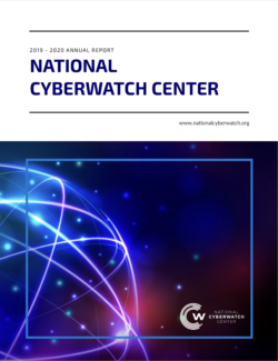 2019-2020 National CyberWatch Center Annual Report