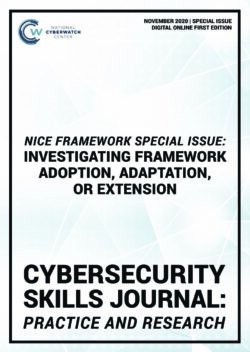 CSJ NICE Framework Special Issue: Investigating Framework Adoption, Adaptation, or Extension